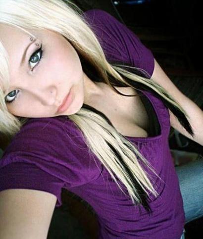 Blonde Emo Girls