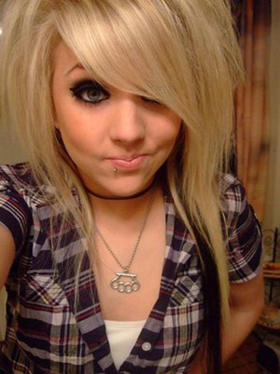 Blonde Emo Pictures
